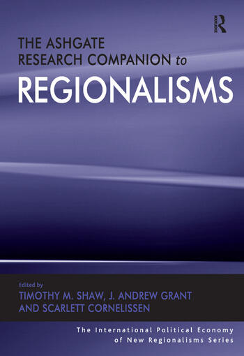 The Ashgate Research Companion to Regionalisms book cover
