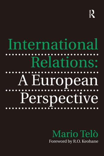 International Relations: A European Perspective book cover