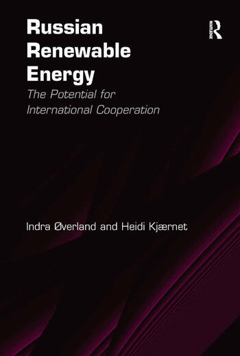 Russian Renewable Energy The Potential for International Cooperation book cover