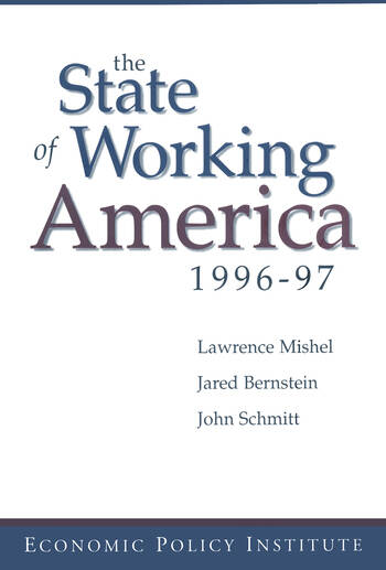 The State of Working America 1996-97 book cover