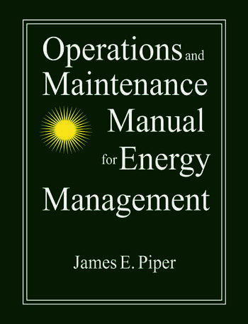 Operations and Maintenance Manual for Energy Management book cover