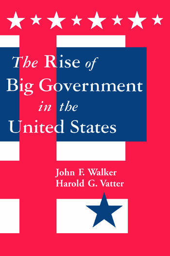 The Rise of Big Government book cover