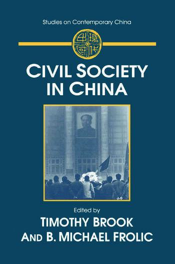 Civil Society in China book cover