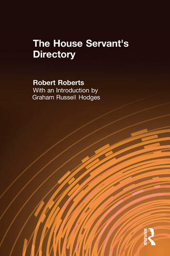 The House Servant's Directory book cover