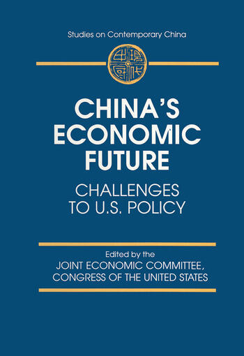 China's Economic Future Challenges to U.S.Policy book cover