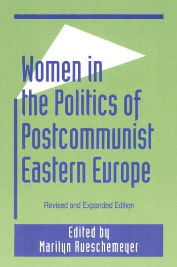 Women in the Politics of Postcommunist Eastern Europe book cover