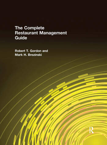 The Complete Restaurant Management Guide book cover