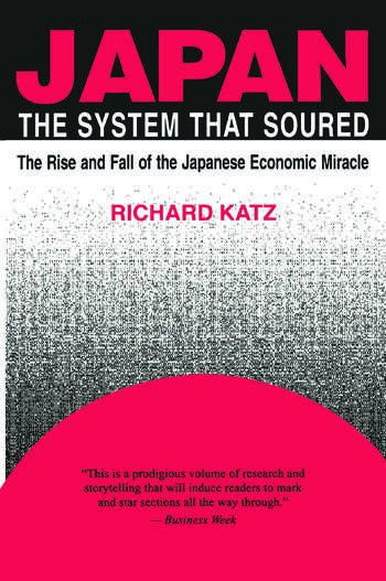 Japan, the System That Soured book cover