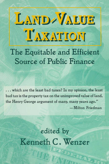 Land-Value Taxation The Equitable Source of Public Finance book cover