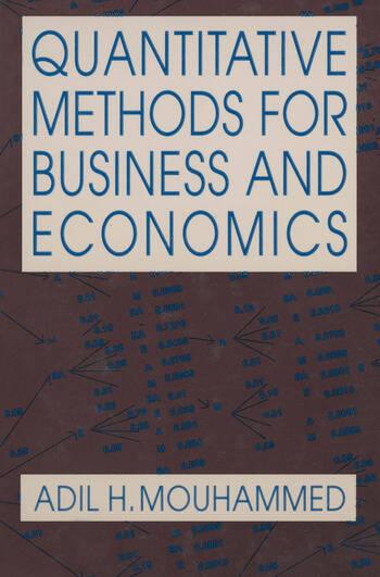 Quantitative Methods for Business and Economics book cover
