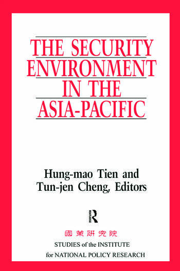 The Security Environment in the Asia-Pacific book cover