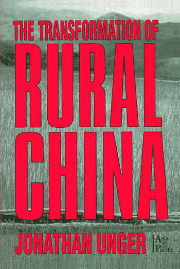 The Transformation of Rural China book cover