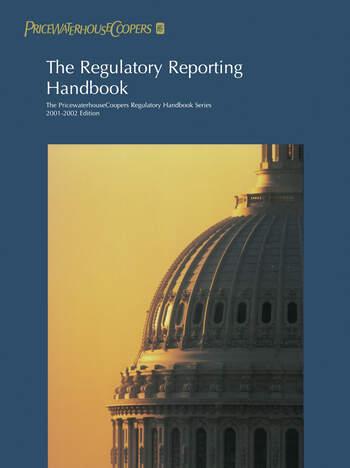 The Regulatory Reporting Handbook 2000-2001 book cover