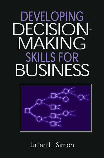 Developing Decision-Making Skills for Business book cover