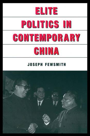 Elite Politics in Contemporary China book cover