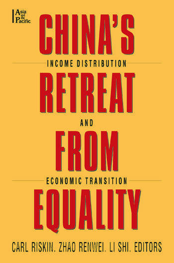 China's Retreat from Equality Income Distribution and Economic Transition book cover
