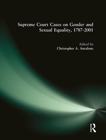 Supreme Court Cases on Political Representation, 1787-2001 book cover