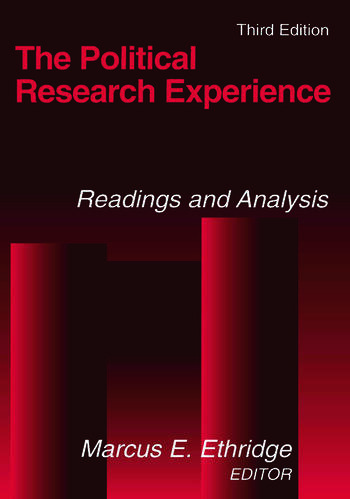 The Political Research Experience: Readings and Analysis Readings and Analysis book cover