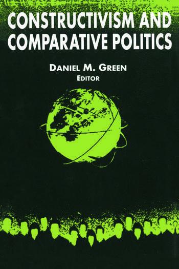 Constructivism and Comparative Politics book cover