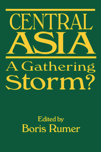 Central Asia A Gathering Storm? book cover