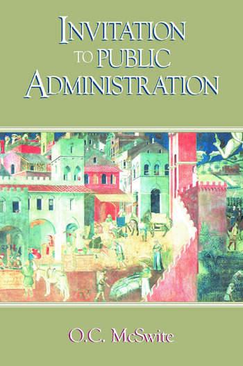 Invitation to Public Administration book cover