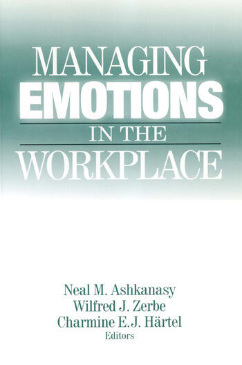 Managing Emotions in the Workplace book cover