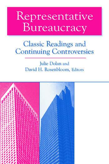Representative Bureaucracy: Classic Readings and Continuing Controversies Classic Readings and Continuing Controversies book cover
