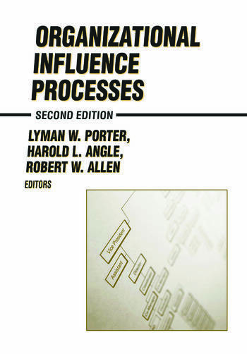 Organizational Influence Processes book cover