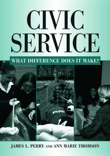 Civic Service: What Difference Does it Make? What Difference Does it Make? book cover