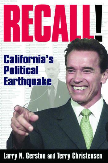 Recall!: California's Political Earthquake California's Political Earthquake book cover