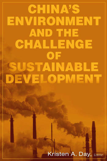 China's Environment and the Challenge of Sustainable Development book cover