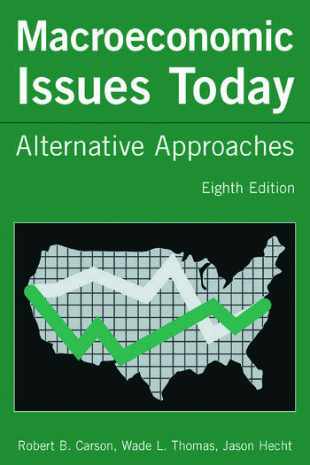 Macroeconomic Issues Today Alternative Approaches book cover