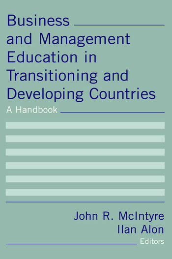 Business and Management Education in Transitioning and Developing Countries: A Handbook A Handbook book cover