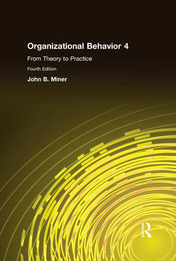 Organizational Behavior 4 From Theory to Practice book cover
