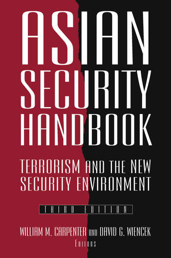 Asian Security Handbook Terrorism and the New Security Environment book cover