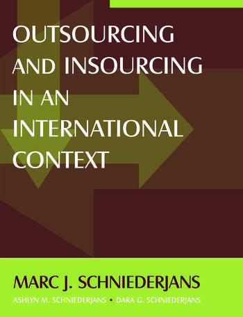 Outsourcing and Insourcing in an International Context book cover