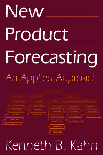 New Product Forecasting An Applied Approach book cover