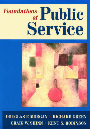 Foundations of Public Service book cover
