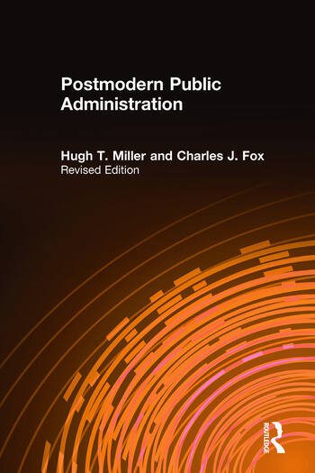 Postmodern Public Administration book cover
