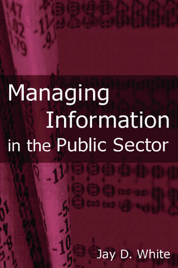 Managing Information in the Public Sector book cover