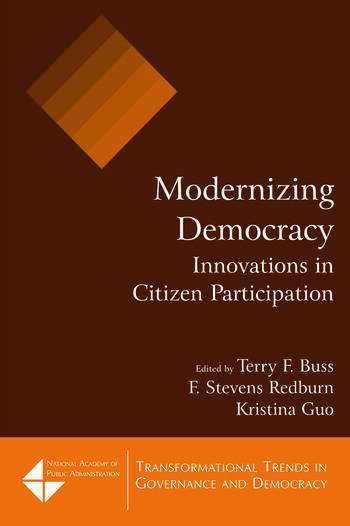 Modernizing Democracy: Innovations in Citizen Participation Innovations in Citizen Participation book cover