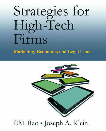 Strategies for High-Tech Firms Marketing, Economic, and Legal Issues book cover