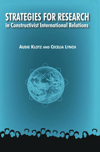 Strategies for Research in Constructivist International Relations book cover