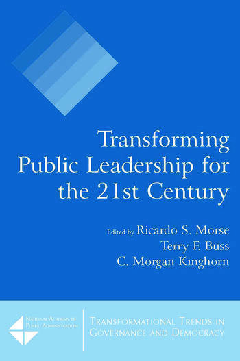 Transforming Public Leadership for the 21st Century book cover