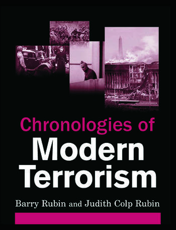 Chronologies of Modern Terrorism book cover