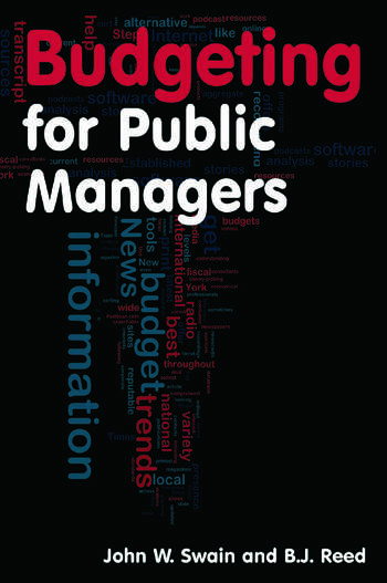 Budgeting for Public Managers book cover