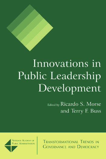 Innovations in Public Leadership Development book cover