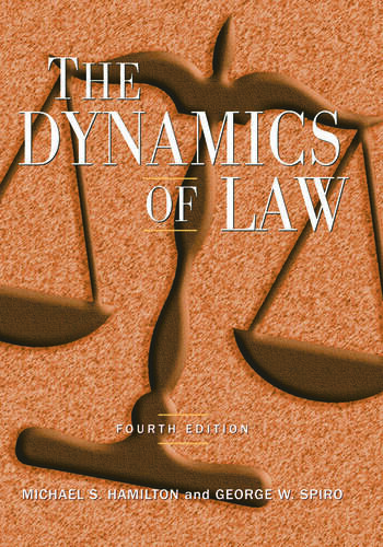 The Dynamics of Law book cover