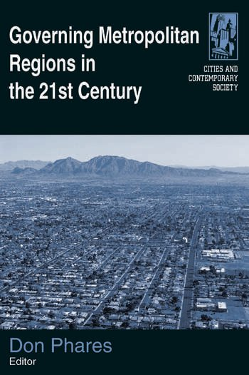 Governing Metropolitan Regions in the 21st Century book cover