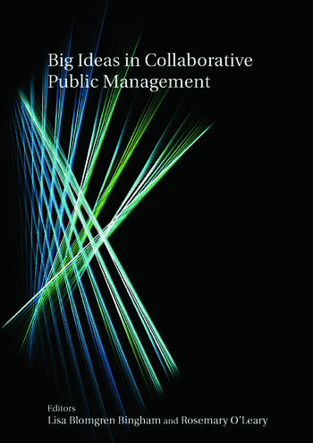 Big Ideas in Collaborative Public Management book cover